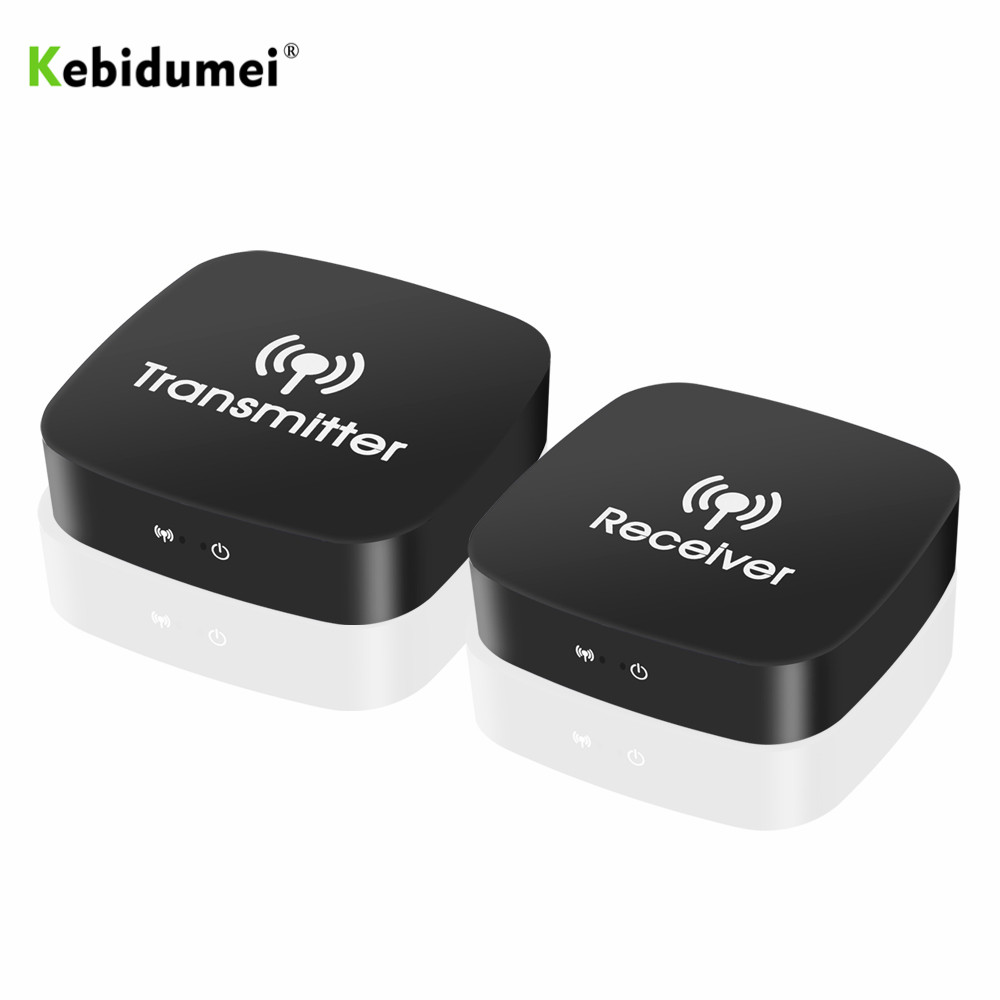 kebidumei 5GHz Wireless HDMI Video Transmitter And Receiver 10m  For Blu-ray Player DVD Player PC Laptop Home TV Audio Video