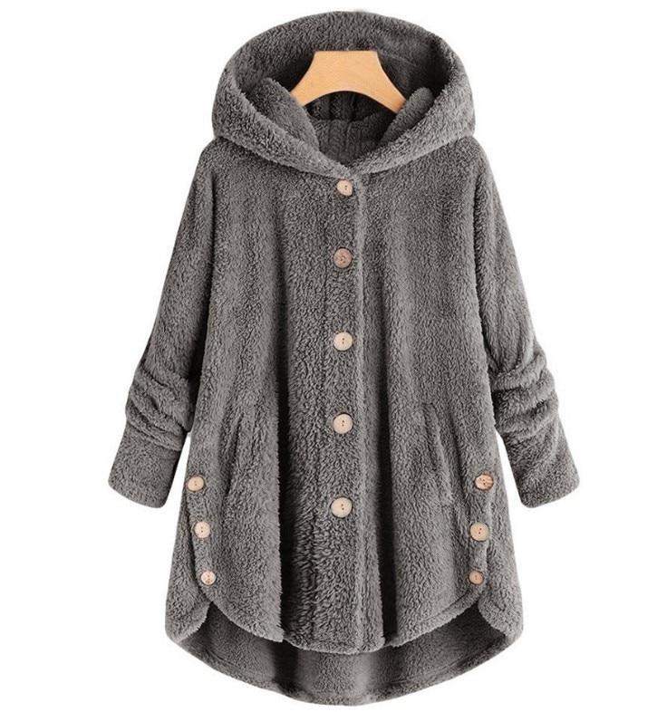 Fashion Leopard Coat Women HoodiesFemale Long Sleeve Coats And Jackets  Autumn 2019  Plus Size Plush Sweatshirt Female Clothing