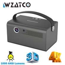 Wzatco A1 Dlp Link 3D Projector Android Wifi Slimme Proyector Bluetooth 300 Inches 1000 Ansi Lumens Home Theater Draagbare Beamer
