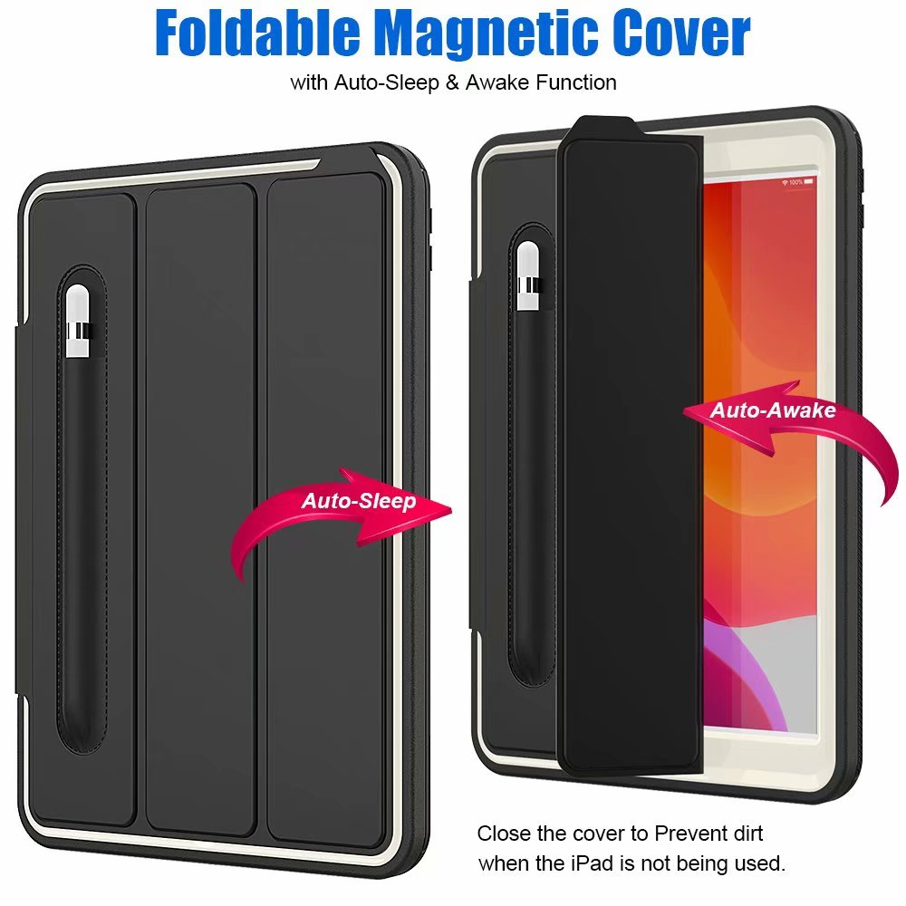 Shockproof 10.2 iPad ipad 2019 Armor case 7th generation For For smart Case Kickstand