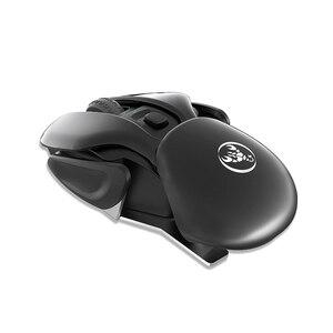 Image 3 - HXSJ T37 Wireless Stille Maus 2,4G Wiederaufladbare 4 Taste 1600 Einstellbare DPI für Office Home Computer