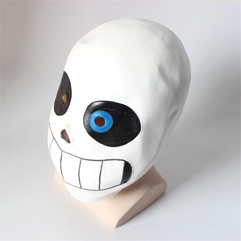 Game Undertale Sans Papyrus Cosplay Mask Halloween Fancy Ball Latex Helmet Props