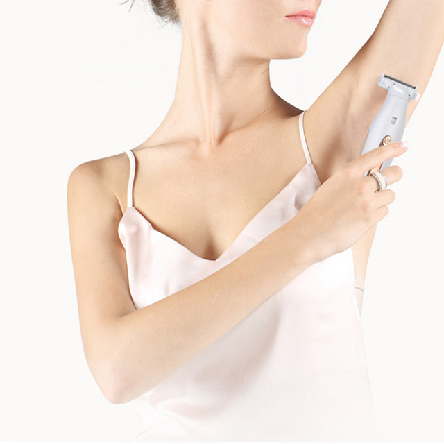 Multifunction Women Hair Removal Electric Epilator Female Shaving Machine Mini Shaver Trimmer Razor for Eyebrow Underarm 1
