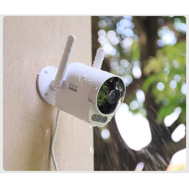 Xiaovv Outdoor Panoramic Camera Pro 1080P IP Surveillance Cam Wireless WiFi High definition Night Vision Work with Mijia APP