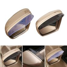 цена на PVC Rubber Universal Rain Eyebrow for Car Rearview Mirror Anti-rain Waterproof Rearview Mirror Cover Car Exterior Parts