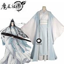 Costume de Cosplay de Lan Wangji, Costume Original de l'ancien tanzhan de Wei Wuxian yying Patriarch pour Halloween