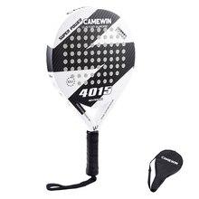 Новая Теннисная ракетка из углеродного волокна для мужчин и женщин, новинка, популярная спортивная мягкая ракетка для тенниса с веслом, чехол для сумки