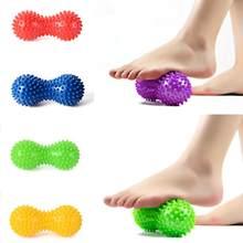 Orzechowe pcv materiały do jogi z cierniami trening masaż orzechowe piłka ręczna joga piłka Fitness napompowane poduszka powietrzna piłka Peanut 6 kolorów