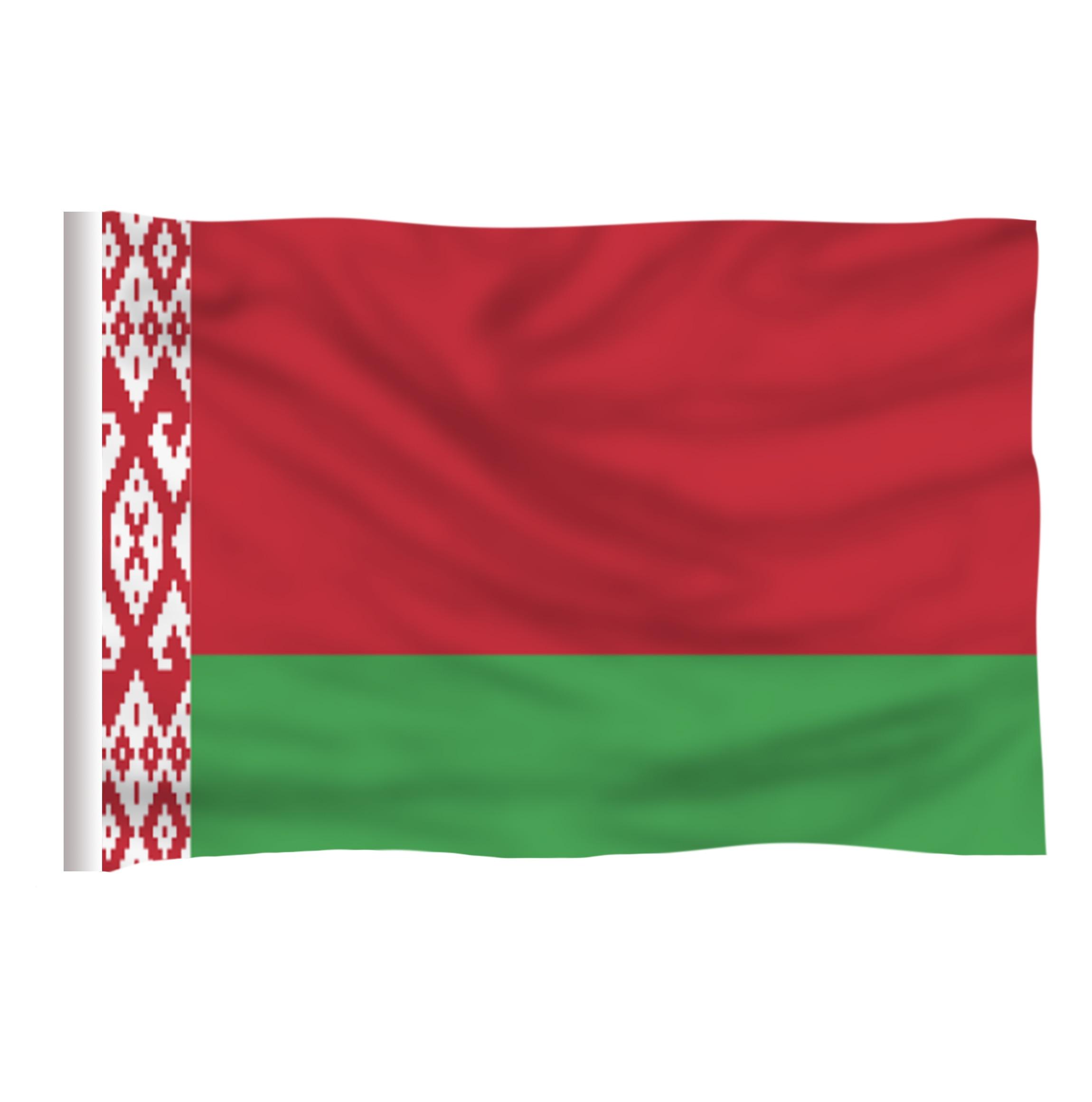 Belarus Bayraq Polyester Bayrağı 5 * 3 FT 150 * 90 CM Yüksək - Ev dekoru - Fotoqrafiya 2