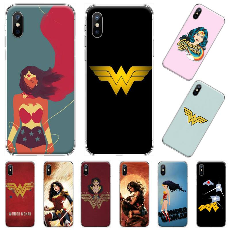 Diana Prince wonder frau Coque Shell Handy-Fall Für <font><b>iphone</b></font> 4 4s 5 5s 5c se 6 6s 7 <font><b>8</b></font> plus x xs xr 11 pro max image