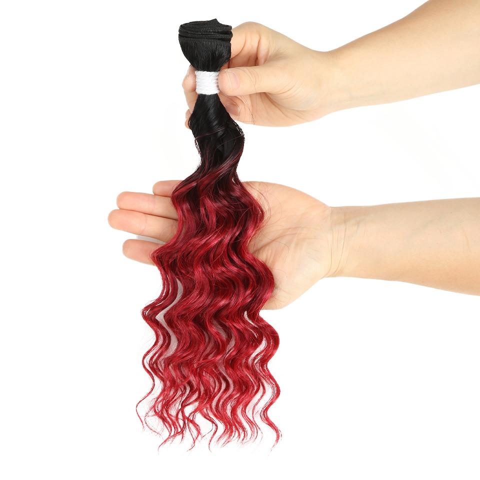 calor fibra de cabelo sintético pacotes extensão