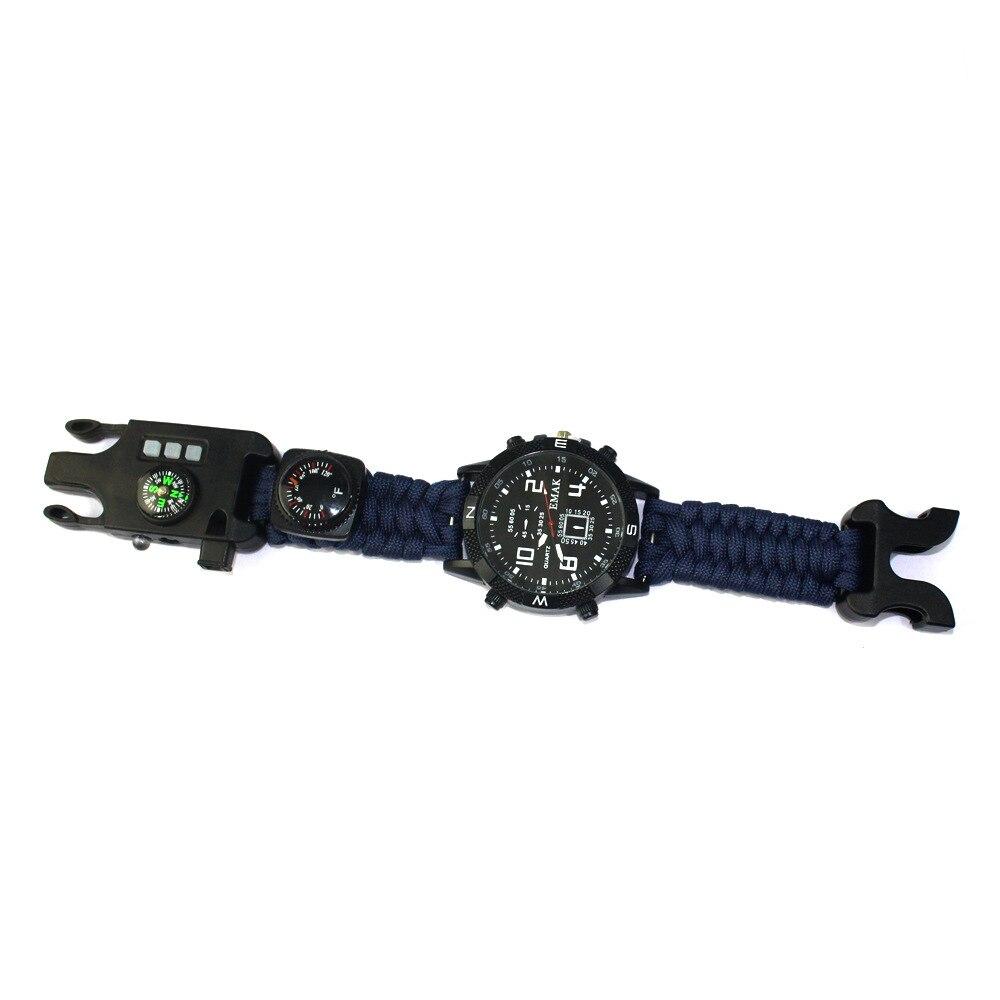 Мужские часы с цифровым компасом, светодиодный, для спорта на открытом воздухе, наручные часы, мужские Цифровые многофункциональные часы с ...