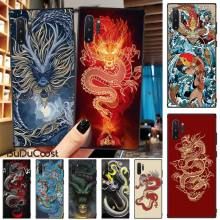 Jomy Chinese style Dragon DIY Luxury Phone Case For Samsung Galaxy Note3 4 5 7 8 9 10 Pro M10 20 30 A3 2 310 6