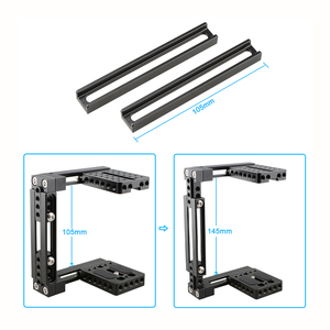 Image 5 - Kayulin Dual use Einstellbare Dslr Kamera Käfig Kit mit Holz griff grip für Universal Dslr kameras