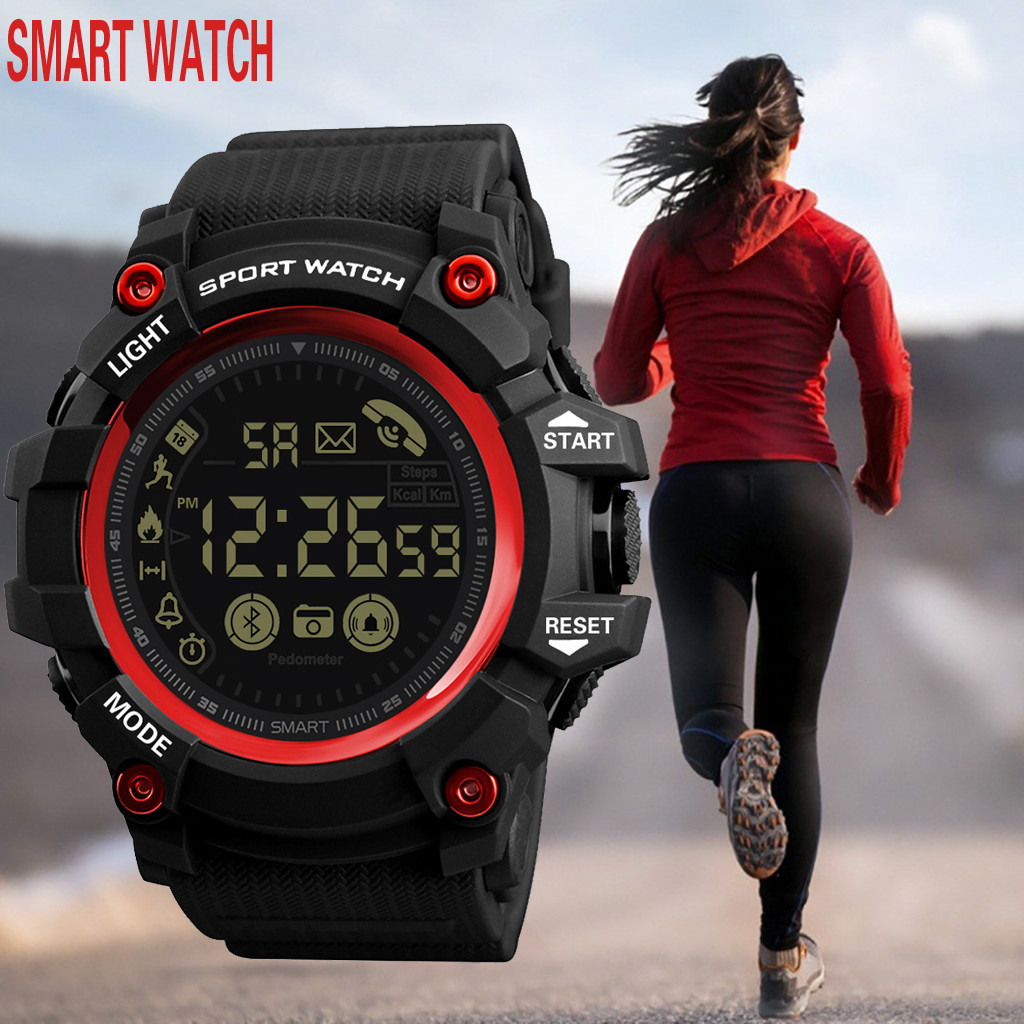 2020 <font><b>New</b></font> men <font><b>Smart</b></font> <font><b>watches</b></font> Waterproof Sports luxury Smartwatch Analog Digital Military men <font><b>watch</b></font> A50 image