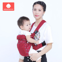 Ergonomic Baby Carrier Infant Kid Baby Hipseat Carrier Front Facing Carry Kangaroo Baby Wrap Carrier Sling for Baby Travel 3-36M
