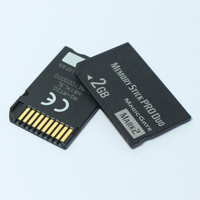 ¡Original! 1GB 2GB de memoria Stick Pro Duo tarjetas de memoria para PSP