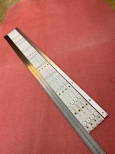 Image 3 - New 5 PCS/set 10LED(3V) 842.5mm LED backlight strip for 43PFT4131 43PFS5301 GJ 2K15 430 D510 GJ 2K16 430 D510 V4 01Q58 A