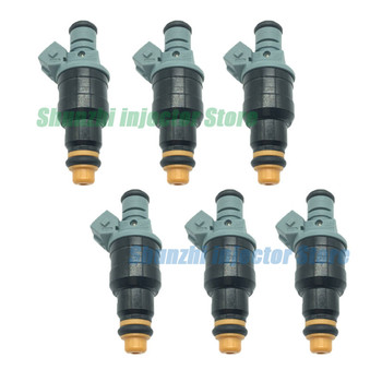 6pcs Fuel Injector Nozzle For VW SANTANA 1.8i 1995- 0280150989 026133025