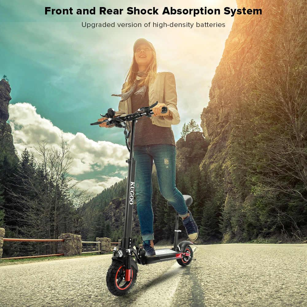 [Eu Voorraad] Kugoo M4 Pro Opvouwbare Elektrische Kick Scooter 48V 500W 13AH 65Km Max Bereik 45 Km/h Max Speed Scooter Elektrische Voor Volwassenen