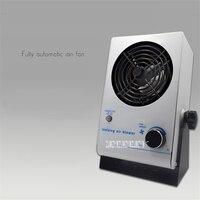 PC Desktop Anti Eletrostática Íon Ventilador Ionizante Air Blower Indústria Aerostat Cabeça Pequena Único Equipamento Eliminador de Estática|  -