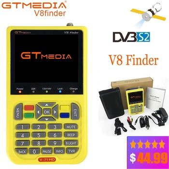 GTMEDIA V8 Finder Satellite Finder DVB-S2 DVB-S FTA Digital SatFinder Meter HD Sat Finder Tool TFT LCD Sat Finder lnb Signal