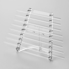 432Hz Crystal Singing Harp C Key 8 Notes Healing for Sound Therapy with Mallets Aluminum Carry Case Musical Instrument xylophone