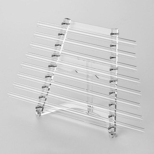 Arpa de cristal de 432Hz para cantar llave C, 8 notas de curación para terapia de sonido con mazos, funda de transporte de aluminio, instrumento Musical Xilófono
