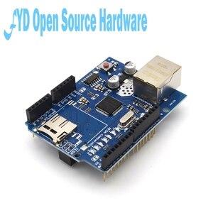 Image 4 - 1pcs  Shield Ethernet Shield W5100 R3 UNO Mega 2560 1280 328 UNR R3 W5100 Development board for arduino