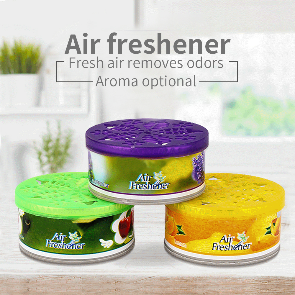 Air Freshener Deodorant Solid Perfume Fragrance Diffuser Deodorant Vanilla Fragrance Indoor Car Accessories