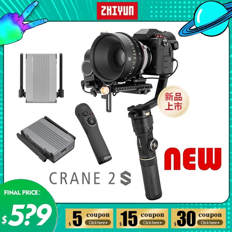 Zhiyun Kran 2S 3-Achse Handheld Gimbal Stabilisator für DSLR Spiegellose Kamera Video Steadicam Sony Canon VS Kran v2