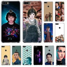 Phone Case For Huawei Honor 6A 6C 7A 8 8X 8 9 9X 10 View 20 Lite Pro Play Hard Cover Mike Dans Stranger Things(China)