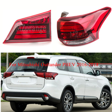 MIZIAUTO Inner/Outer Tail Light for Mitsubishi Outlander PHEV 2016-2018 Rear Tail Lamp Brake Light fog lamp Rear Bumper Light
