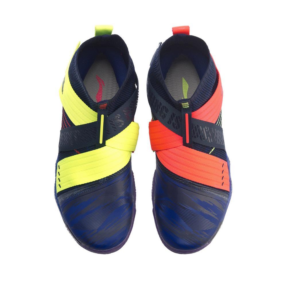 Li-Ning, Мужская профессиональная обувь для бадминтона RANGER 4,0, подстилка, светильник, подкладка из пены, li ning Cloud, спортивная обувь, кроссовки AYAP015 XYY135-5