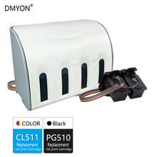 Dmyon Kompatibel untuk Canon PG510 CL511 CISS Bulk Ink Cartridge untuk MP240 MP250 MP260 MP280 MP480 MP490 IP2700 MP499 Printer(China)