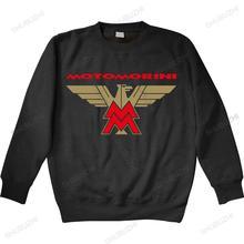 Homme bawełniana bluza z kapturem moda Moto Morini bluzy motocykl Biker klasyczna Retro wyścig Logo unisex marka zimowa bluza tanie tanio Jesień I Zima Na co dzień CASUAL CN (pochodzenie) Pełne COTTON POLIESTER Drukuj REGULAR Z okrągłym kołnierzykiem shubuzhi