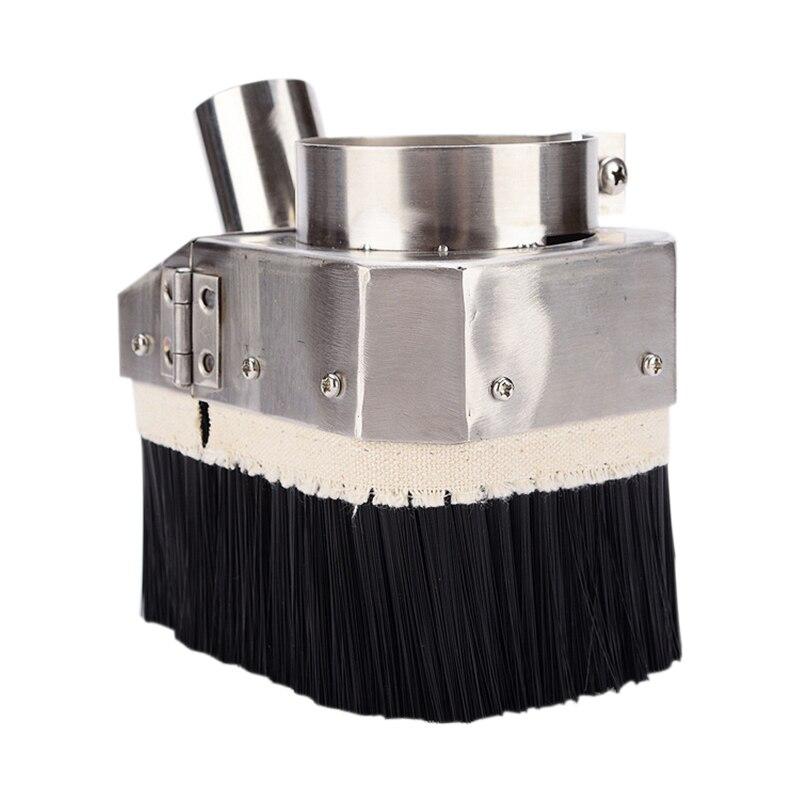 Hot 80Mm Engraving Machine Vacuum Hood Dust Hood Woodworking Engraving Machine Accessories Spindle Motor Special Dust Cover