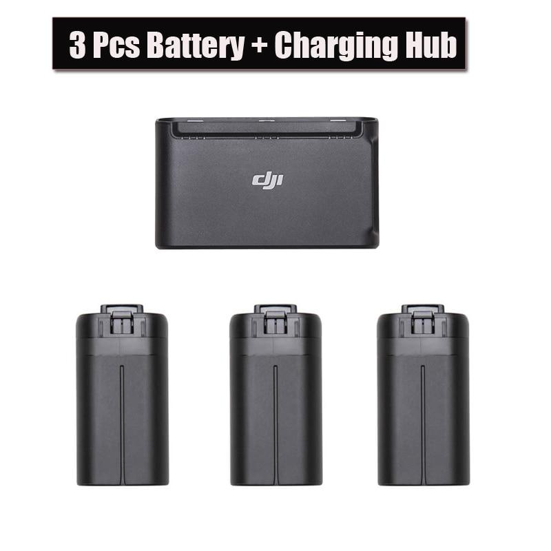3pcs Original DJI Mavic Mini Drone Battery 30 minutes flight time  Two-Way Battery Charging Hub for DJI Mavic Drone Accessories