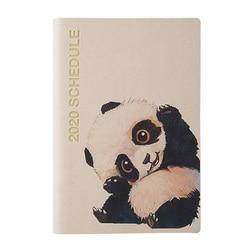 Pamiętnik 2020 kalendarz terminarz tygodniowy A6 pamiętnik 96 arkuszy szkoła papiernicze Agenda dziennik Notesbooks 93*136mm