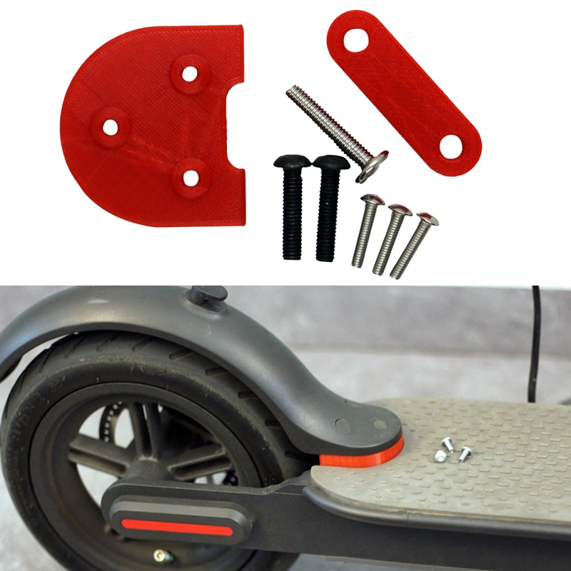 For Xiaomi Scooter Mijia M365 M187 Complete Kit for 10 Inch Wheels Upgrade 10' RED