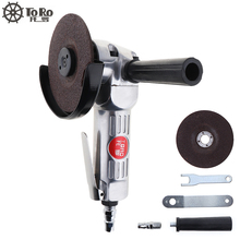 TORO-6040 4 Inch High Speed Pneumatic Air Grinder Angle Grinder with Disc Polished Piece for Polishing Machine Cutting Tools