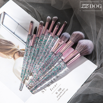 ZZDOG 7/10 High-Quality Professional Makeup Brushes Set Eyeshadow Powder Foundation Eyebrow Blending Cosmetic Beauty Tools Kit 1