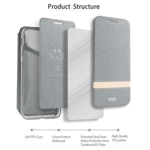 Image 4 - MOFi For Meizu 16th Case Cover for Meizu 16th Plus Coque Phone Case For Meizu16x Housing TPU PU Leather Book Stand Folio Shell