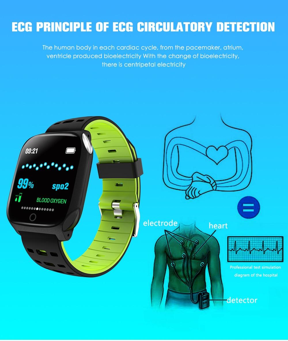 pressão arterial à prova dwaterproof água inteligente pulseira banda