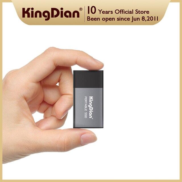 KingDian External SSD 120gb 250gb 500gb 1tb 2tb Hard Drive USB 3.0 Type C For Laptop 1