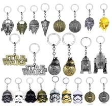 Kitsch Kawaii Super Hero Star Wars R2D2 Robot Keychain Key Ring