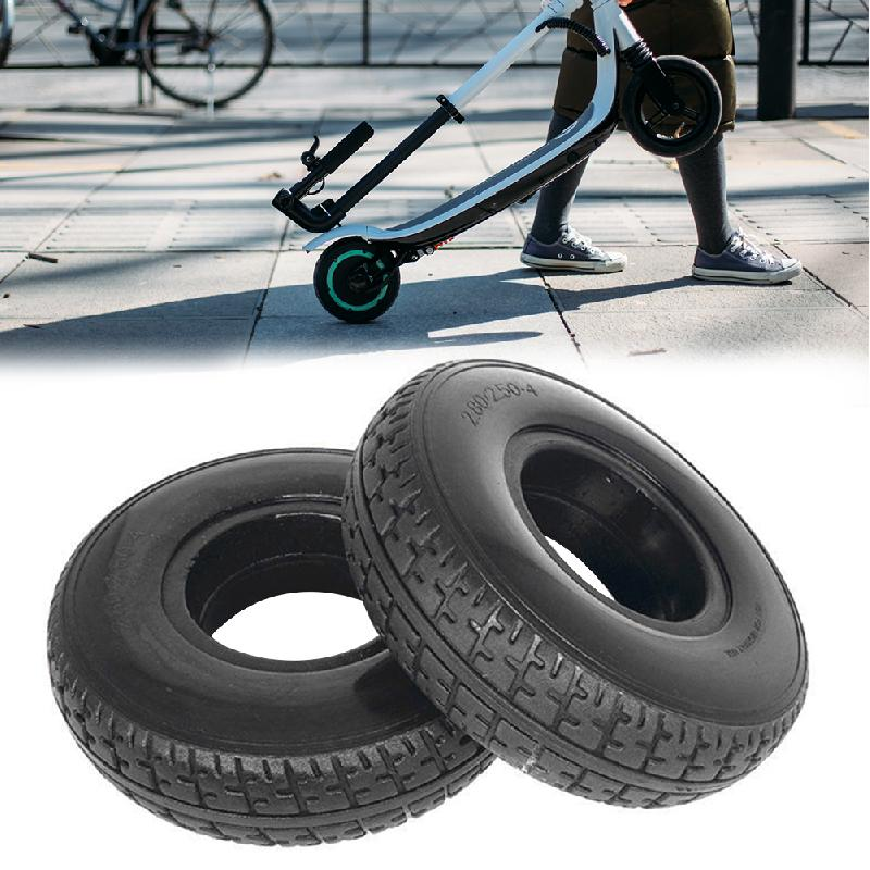 Battery Car Solid Tire <font><b>2.80/2.50</b></font>-<font><b>4</b></font> mobility Scooter Wheelchair Tyre image