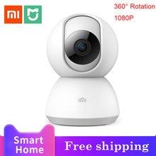Smart camera webcam 1080p wifi pan tilt night vision 360 angle