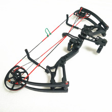 Shooting-Toy Compound Bow Mini-Version Powerful Outdoor Craft Reduced-Version-Collection