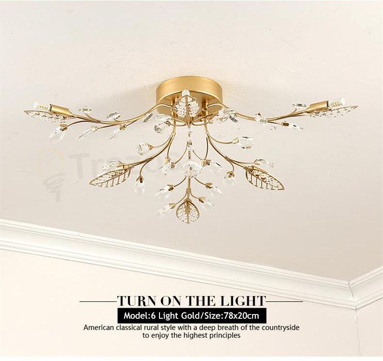 H5001c0722aa5425da50727ec5182bd75y TRAZOS New item fancy ceiling light LED Crystal ceiling lamp modern lamps for living room lights,AC110-240V DIY Crystal lighting